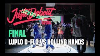2019 JUSTE DEBOUT SEOUL / Locking Final Luplo D flo vs Rolling Hands