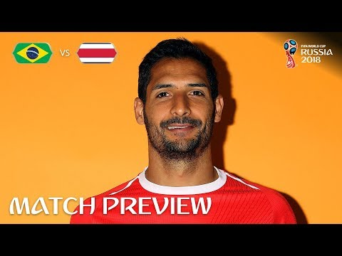 Celso Borges (Costa Rica) - Match 25 Preview - 2018 FIFA World Cup™