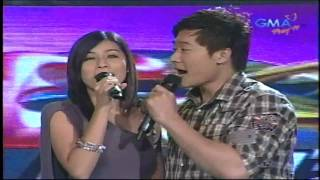 "Frencheska Farr & Ronnie Liang Singing ""Ngiti"" on Eat Bulaga"