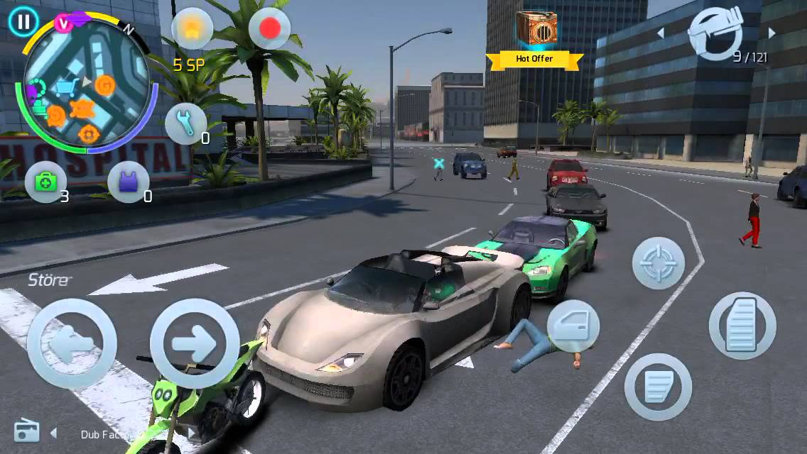 Gangstar Vegas] Best car to sell at chopshop - YouTube