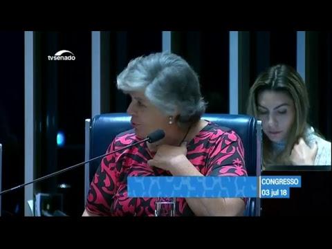 Athos Bulcão - TV Senado ao vivo - Congresso - 03/07/2018