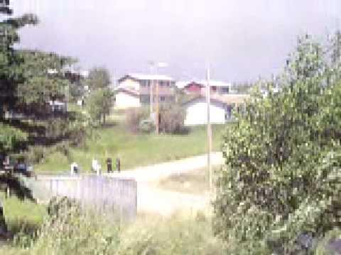 2006-07 Forest fires around Stanley mission