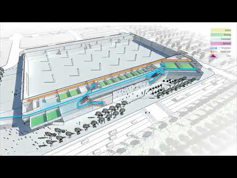 Designing the new OKC convention center | Final Concept (201