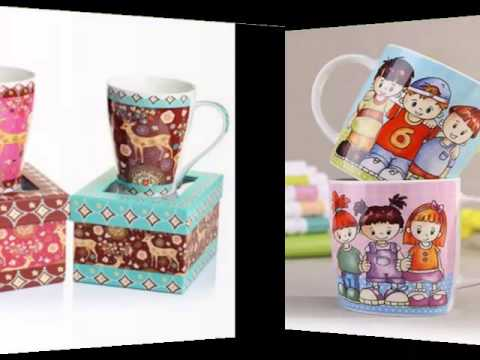 b444d23df49 Handmade Creative Ceramic Mug Ideas | Colorful Decorating Picture Set Of  Ceramic Arts
