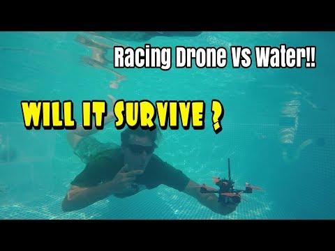 WaterProof/Resistant FPV Racing Drone- Flying Under Water!