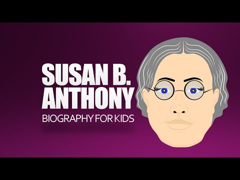 Have Fun with history and learn about Susan B. Anthony. Here