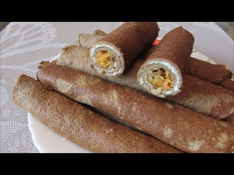 Печеночные трубочки с начинкой / Закуска на праздничный стол