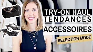 Cover images TRY-ON HAUL ACCESSOIRES TENDANCES : Bijoux, Sacs & Chaussures