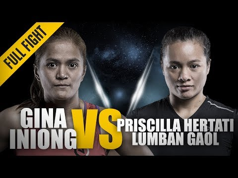 ONE: Full Fight | Gina Iniong vs. Priscilla Hertati Lumban Gaol | Blistering Ground Attack Mp3
