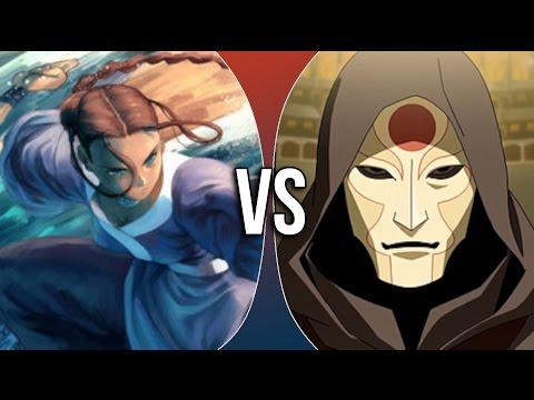 VS | Katara vs Amon