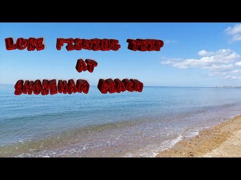 Lure Fishing Trip At Shoreham Beach.