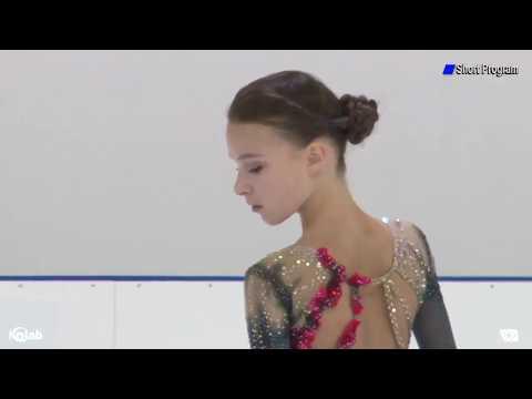 Anna SHCHERBAKOVA RUS Short Program Lombardia Trophy 2019