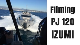 Helicopter footage of Palmer Johnson 120 IZUMI