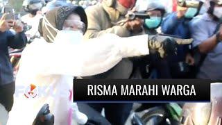 Marah Lagi, Wali Kota Surabaya Risma Sidak Penggunaan Masker Hingga Turun Dari Mobil