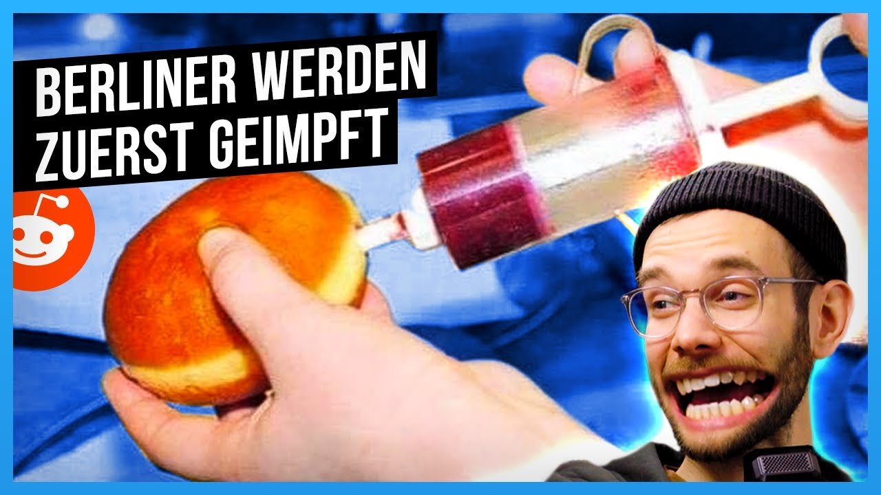 Berliner werden zuerst geimpft! - r/spacefrogs