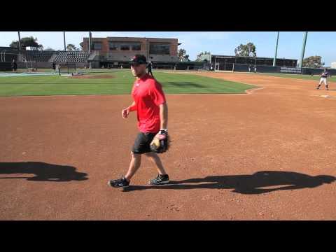 Baseball Skills: Skip Schumaker Charging Ground Balls