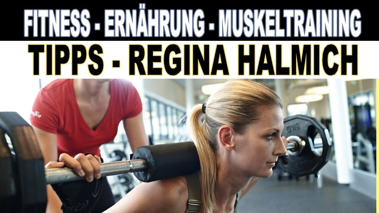 fitness ern hrungsberatung muskeltraining erholung tipps von regina halmich youtube. Black Bedroom Furniture Sets. Home Design Ideas