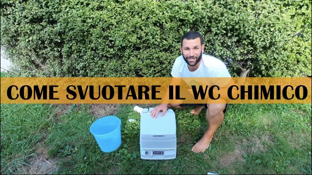 Wc Chimico Van E Camper Come Svuotarlo Youtube
