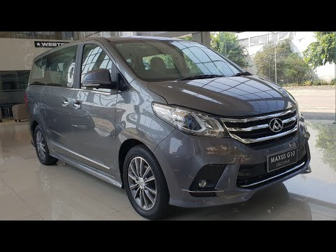 Maxus (LDV) G10 Executive 2016 Facelift In Depth Review Indonesia