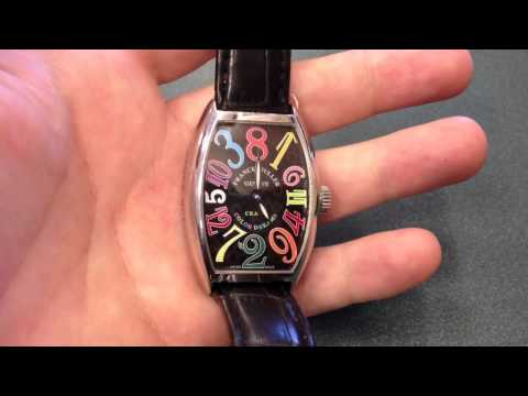 Удивительные часы Franck Muller