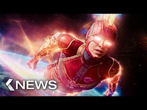 Captain Marvel 2, Bad Boys 4, The Witcher Movie... KinoCheck News