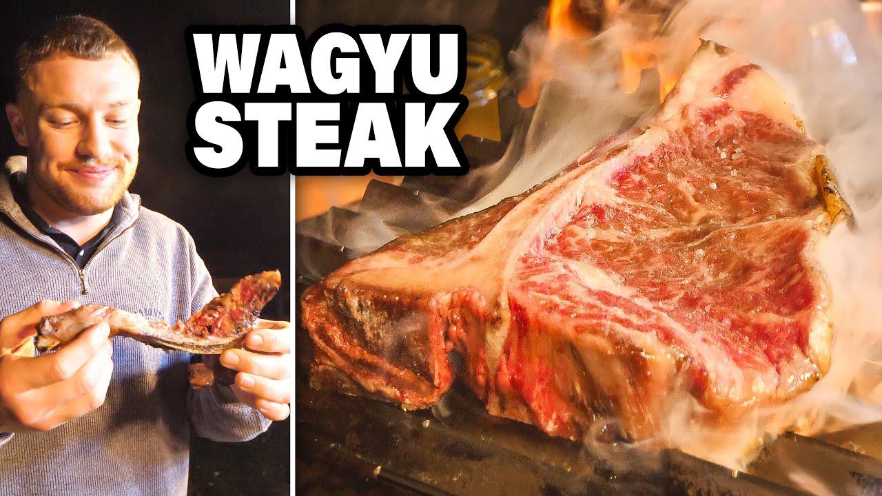 Wir grillen 120€ WAGYU STEAK + Food Tour in Ungarn🥩🇭🇺