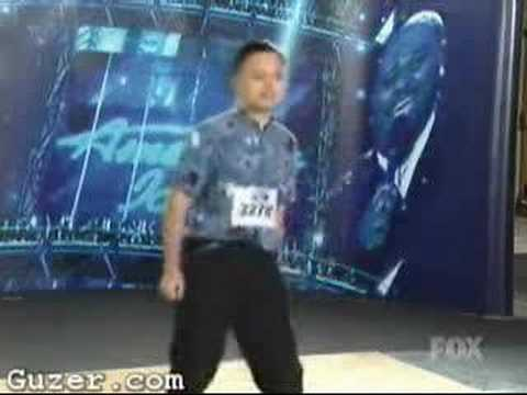 William Hung American Idol Audition -  SHE BANGS!
