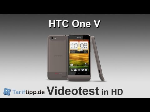 HTC One V | Handytest in HD (deutsch)