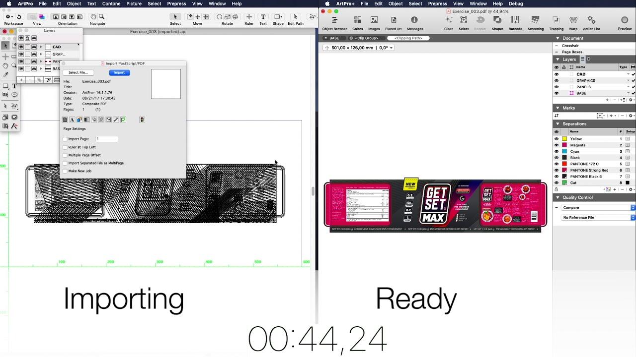 ArtPro+ versus ArtPro: comparing classic and new UX