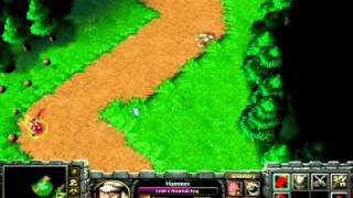 Warcraft 3 custom map - Evil one - singleplayer