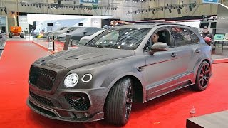 Bentley Bentayga MANSORY - Driving & Sound
