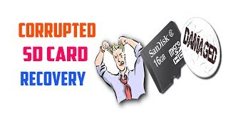 Recover Data from Corrupted SD Card (Corrupted SD Card Recovery) Tech Zaada