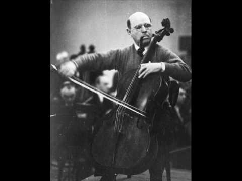 Pablo Casals: Dvorak Cello Concerto - 1st mvt. (2/2)