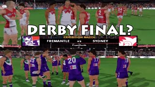DERBY FINAL? (AFL Premiership 2007)