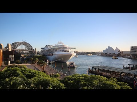Australia-New Zealand Princess Cruise Vacation 2016 - Diamond Princess