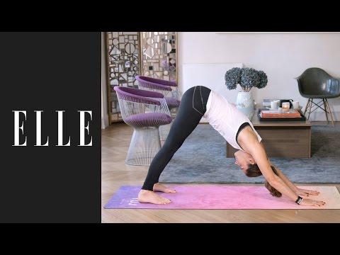 Salutation au soleil : le yoga du matin ☀┃ELLE Yoga