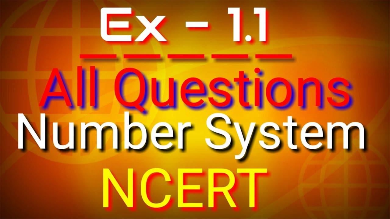 Maths class 9 Ex 1 1 All Questions | Kunal Kishor | GyanAbhiyan, Maths  Chapter 1 class 9, Number Sys
