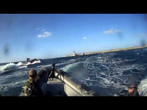 Riding with San Marco Team - Italian Navy - Mare Nostrum