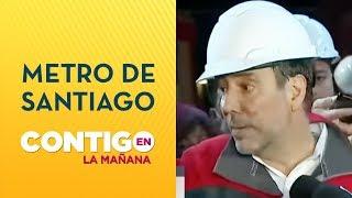 Linea 1 de Metro funcionará desde Pajaritos a Los Dominicos - Contigo en La Mañana