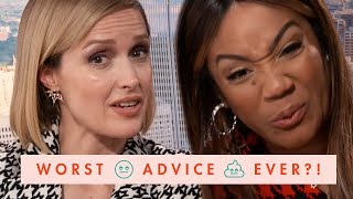 Tiffany Haddish and Rose Byrne Roast Old Cosmo Dating Advice