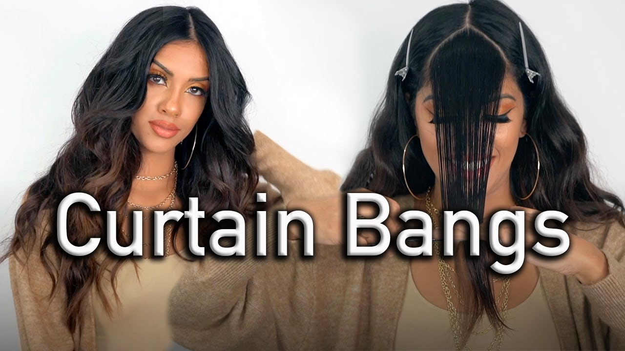 Cut And Style Curtain Bangs Like A Professional Hairdresser Detailed Hair Tutorial Ariba Pervaiz Youtube