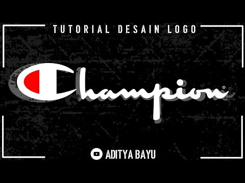 TUTORIAL MEMBUAT LOGO CHAMPION DI ANDROID || Casual Font