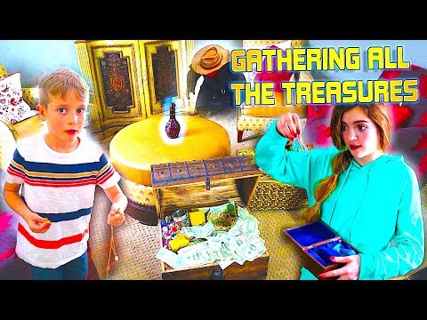 Bringing The Bandits Treasures Together! What Will Happen Next?! The Beach House
