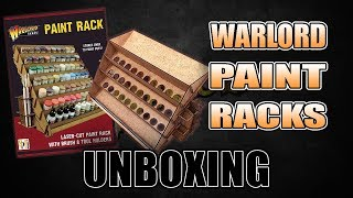 Sort Your Paints With Two Warlord Racks: REVIEW