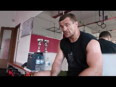 Cro Cop summer preparations for Emelianenko (Part 1)