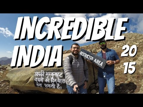 Travelling to Incredible India - New Delhi, Agra, Jaipur & Kashmir (HD)
