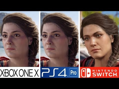 Assassin's Creed Odyssey | Xbox One X VS PS4 Pro VS Nintendo Switch | Graphics Comparison