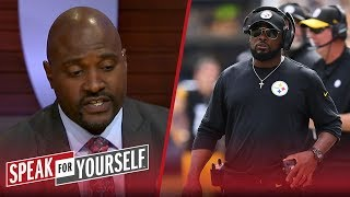 Marcellus Wiley on the 'comedy' in Pittsburgh, Gordon going to Pats   NFL   SPEAK FOR YOURSELF