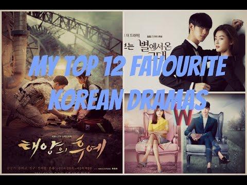 My Top 12 Favourite Korean Dramas (2012-2016)