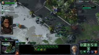 Starcraft II Nova Covert Ops Easter Egg - Defenders of Men getting angry